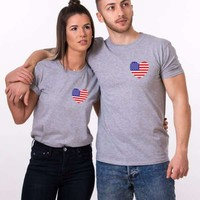 America Shirts, Merica, 4th of July Matching Shirts