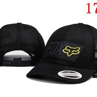 FOX  embroidery Strap Cap Adjustable Golf Snapback Baseball Hat