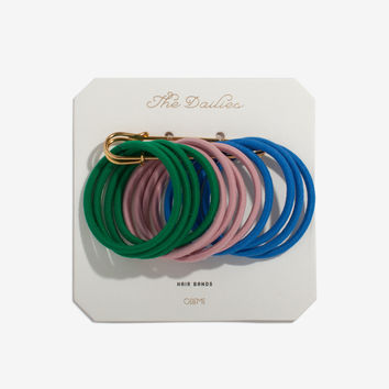 Green Variety Hair Bands