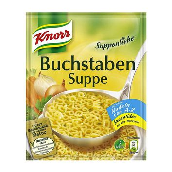 Knorr - Suppenliebe Vegetable Alphabet Soup, 2.8 oz.