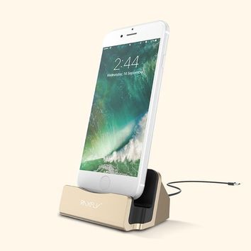 RAXFLY Phone Charging Dock For iPhone - Gold