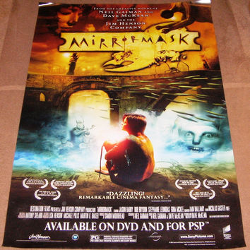 Mirror Mask Movie Poster 27x40 Used