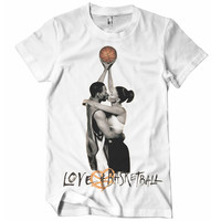 Love & Basketball Crew Neck