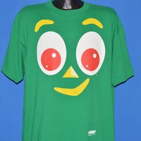 90s Gumby Face All Over Print t-shirt Extra Large