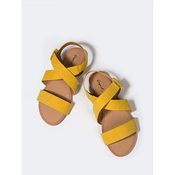 Yellow Strappy Sandal