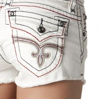 Jen White Denim Shorts - Rock Revival