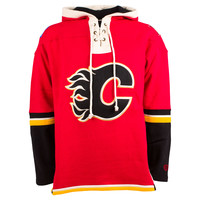 Calgary Flames Heavyweight Jersey Lacer Hoodie