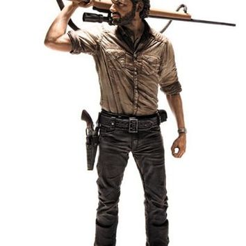 NEW hot 23cm The walking dead Rick Grimes action figure toys collection Christmas gift doll