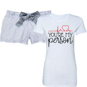 Grey's Anatomy You're My Person Women's Pajamas