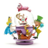 Alice in Wonderland Tea Party Snow Globe | Disney Store