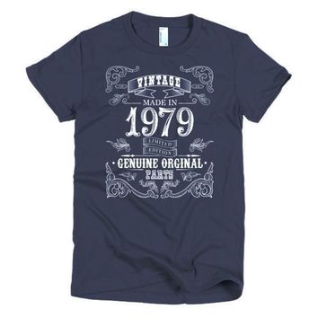 Women's Born in 1979 Aged to perfection 38 yrs years old T-Shirt