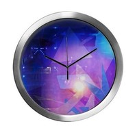 Modern Wall Clock on CafePress.com
