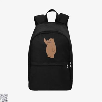Grizzly Bear High Five, We Bare Bears Backpack