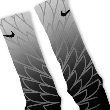 Wings 2 Custom Nike Elite Socks