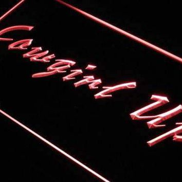 Cowgirl Up LED Neon Light Sign