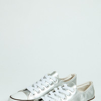 Katie PU Lace Up Trainer