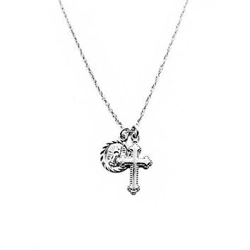 Child of Wild x Silver Hail Mary Dainty Necklace