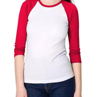 Red and White Top