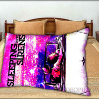 """Sleeping With Sirens Cover Album - 20 """" x 30 """" inch,Pillow Case and Pillow Cover."""