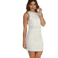 Ivory Catwalk Dress
