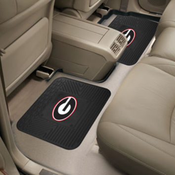 "University of Georgia  Backseat Utility Mats 2 Pack 14""x17"""