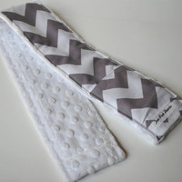 Chevron Camera Strap Cover with Lens Cap Pocket  by twopinkhearts