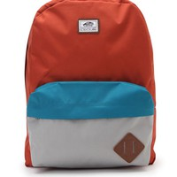 Vans Old School II School Backpack - Mens Backpacks - Orange - NOSZ