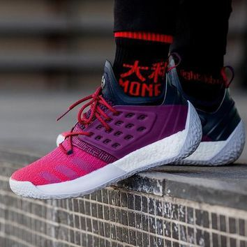 Adidas James Harden Vol. 2 ¡°Maroon¡± Sneakers Basketball Shoes 9ff19ce4bf9e