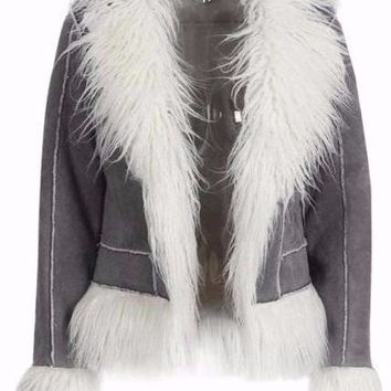 Averi Faux Fur Coat