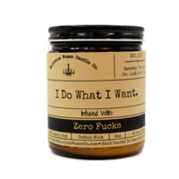 I Do What I Want Candle