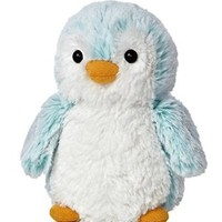 Aurora World Pom Pom Penguin Bright Blue Plush, 6""