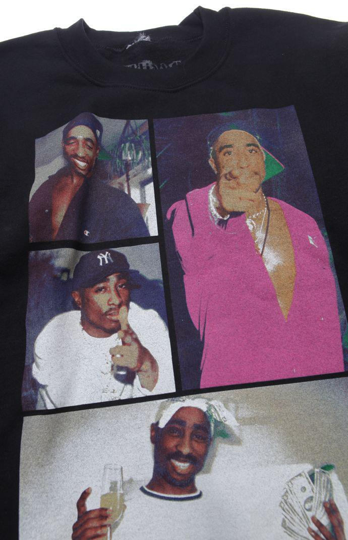 b7156c060 Bioworld Tupac Collage Crew Fleece - Mens from PacSun | Things I
