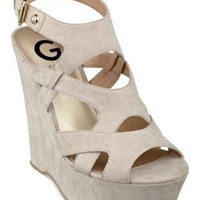G by GUESS Women's Hizza Platform Wedge Sandals | macys.com