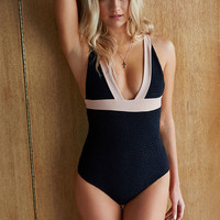 Tori Praver Isabella Smocked One Piece Swimsuit at PacSun.com