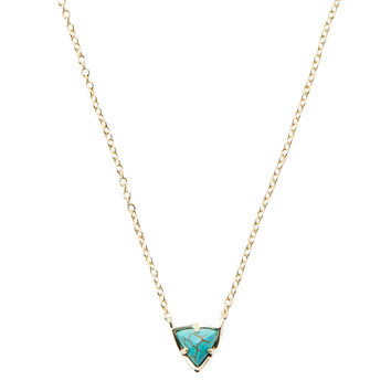 Kendra Scott Jewelry Women's Perry Pendant Necklace - Turquoise/Aqua