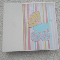6x6 Baby Girl Scrapbook Photo Album