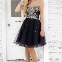 Homecoming dresses by Blush Prom Homecoming Style 9342