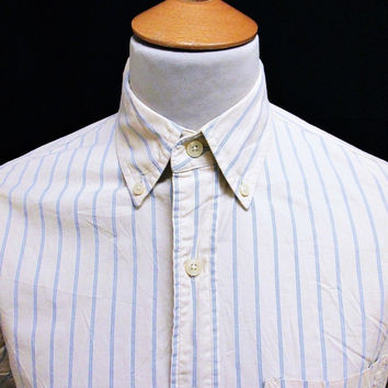 Retro Abercrombie & Fitch Striped Shirt Medium