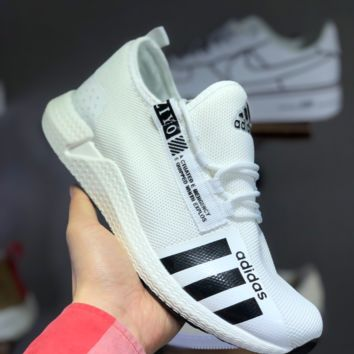 HCXX A1469 Adidas Yeezy Boost POD-S3.1 Breathable Running Shoes White