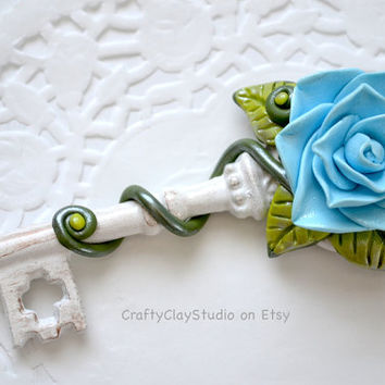 Wedding Gift - Bridesmaid Gift - Maid of Honor Gift - Anniversary Gift - Housewarming Gift - Gift for Her - Key to Heart - Key to Happiness