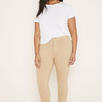 Plus Size Chino Pants | Forever 21 PLUS - 2000152070