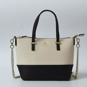 Gotopfashion Kate Spade Women Leather Metal Chain Handbags Shoulder Bag Inclined Shoulder Bag H-YJBD-2H