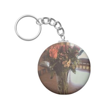 Summer Flowers Keychain
