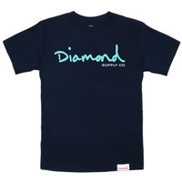 Diamond Supply Co. - OG Script T-Shirt (Navy)