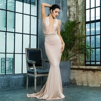 Luminate Gown - Nude