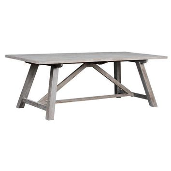 ASH Rustic Farm Style Dining Table
