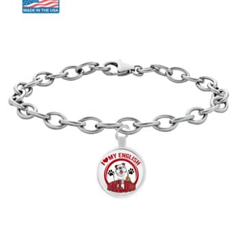 English Bulldog Bracelet english_bulldogb