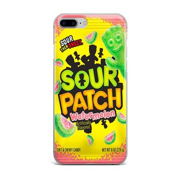 WATERMELON SOUR PATCH KIDS CUSTOM IPHONE CASE