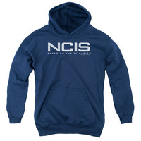 NCIS Logo Navy Youth Hooded Sweatshirt