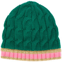 Gucci Cable Knit Beanie Hat - Farfetch